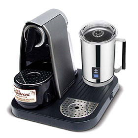 Augusta Plus coffee machine with milk frother